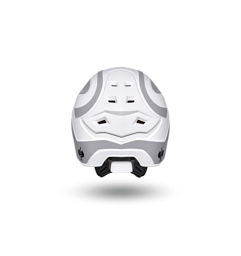 Ochranné přilby: e.s. Pracovní přilba Protos® + bílá/platinová 4