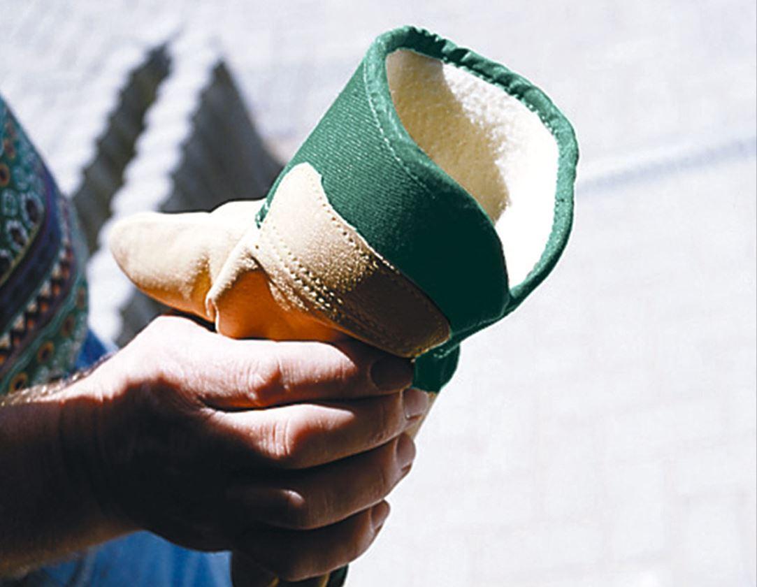 Kůže: Zimní rukavice z plné usně Grönland