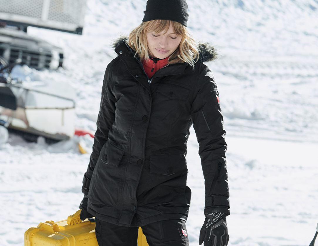 Pracovní bundy: Zimní parka e.s.vision, dámská + černá