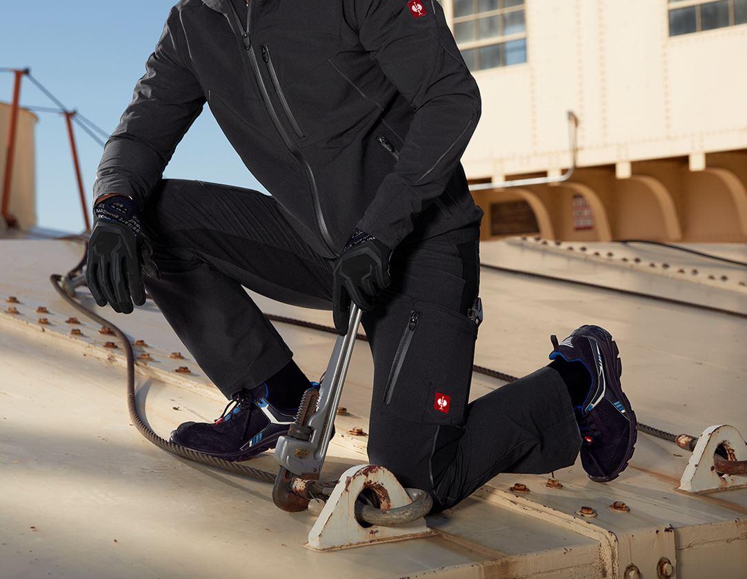 Pracovní kalhoty: Cargo kalhoty e.s.vision stretch, pánské + černá