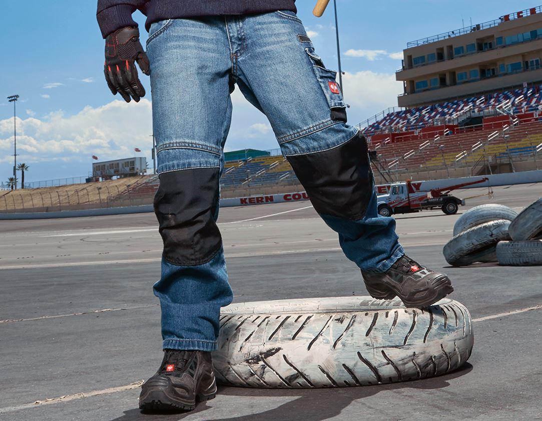 Kalhoty: Jeans e.s.motion denim, dětské + stonewashed