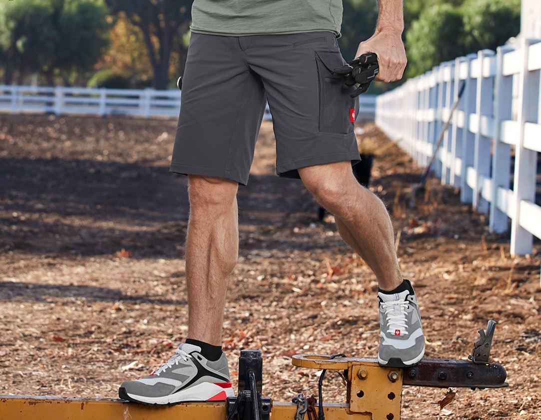 Pracovní kalhoty: Funkční short e.s.dynashield solid + antracit