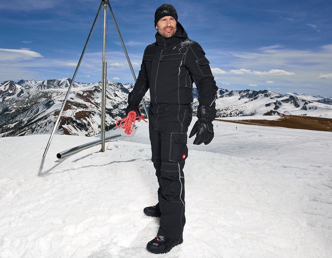 Overaly: Funkční overal snow e.s.dynashield + černá