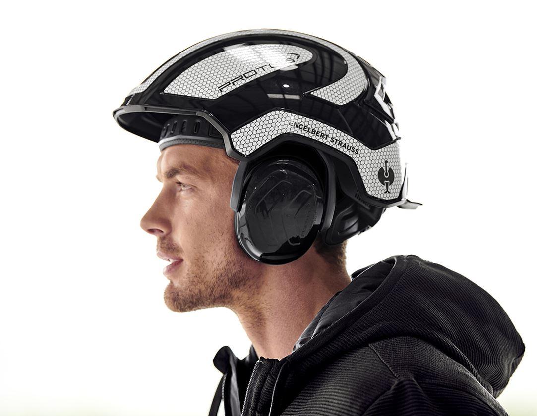 Příslušenství: e.s. Ochrana sluchu Protos® + černá
