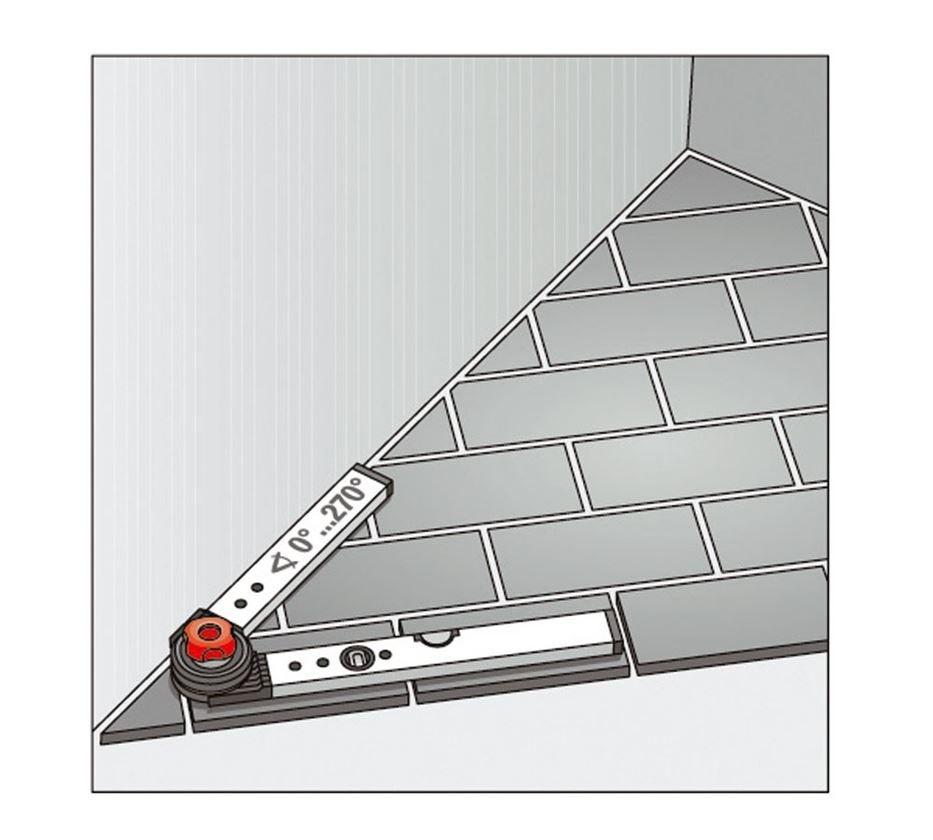 Měřicí nástroje: BMI stavební úhelník s vodováhou 5
