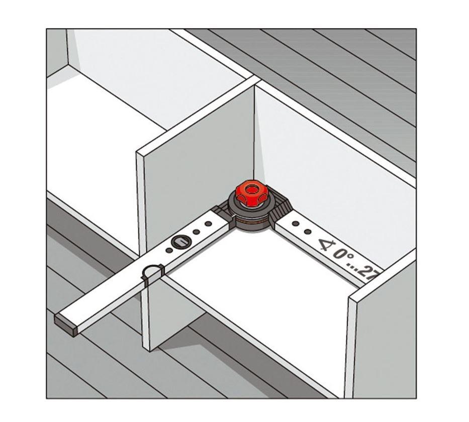 Měřicí nástroje: BMI stavební úhelník s vodováhou 4