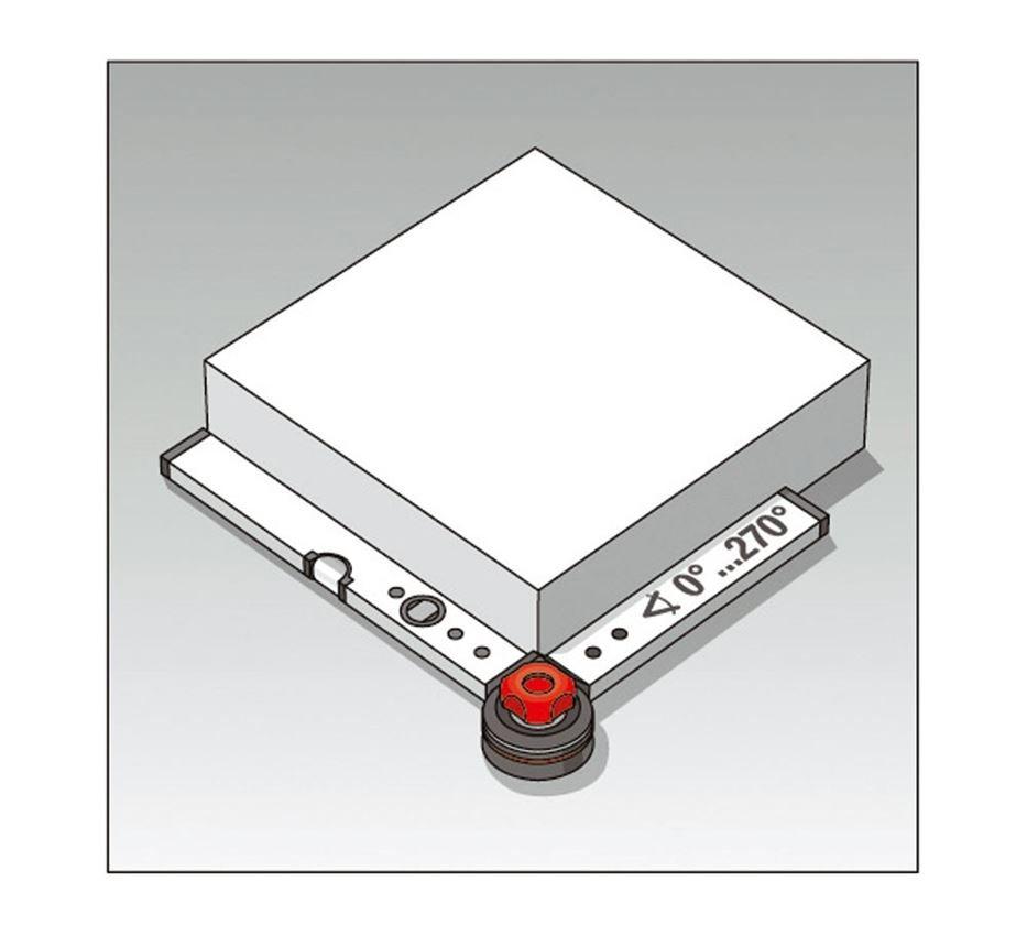 Měřicí nástroje: BMI stavební úhelník s vodováhou