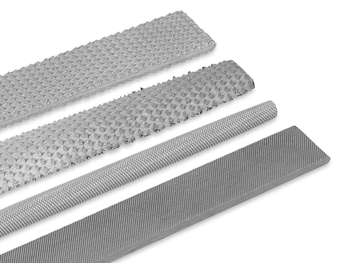 Ruční pilníky: e.s. Sada hrubých pilníků, sek 2