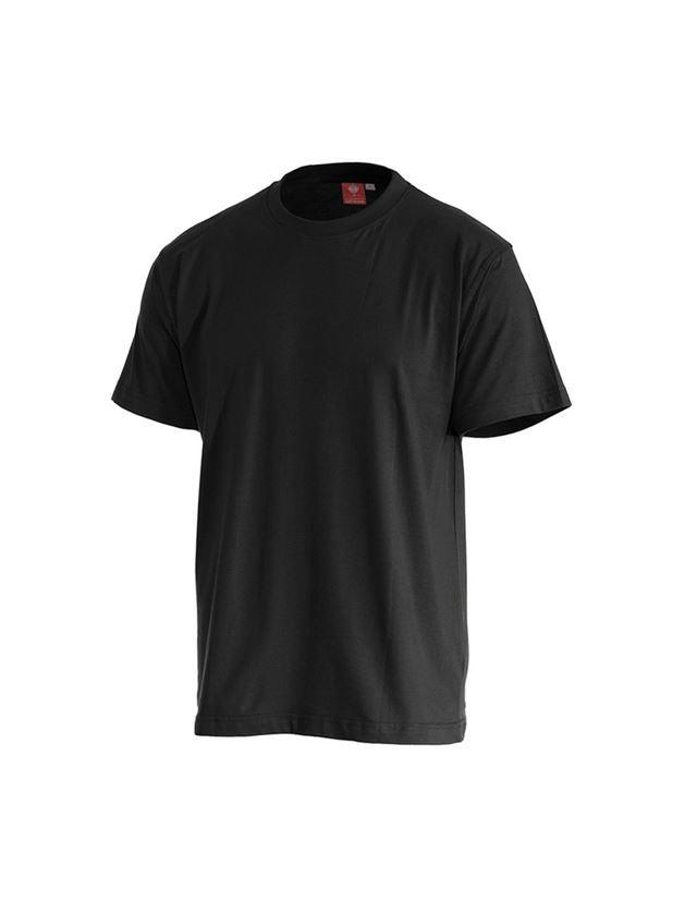 Trička, svetry & košile: e.s. Tričko cotton + černá