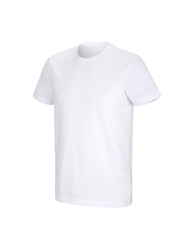 Trička, svetry & košile: e.s. Funkční tričko poly cotton + bílá