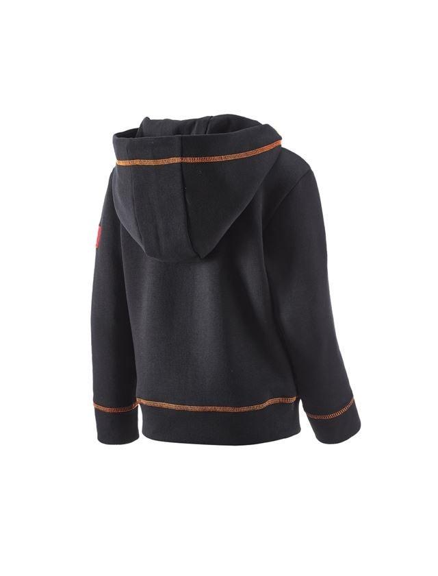 Trička | Svetry | Košile: Hoody-Mikina e.s.motion 2020, dětská + černá/výstražná žlutá/výstražná oranžová 2