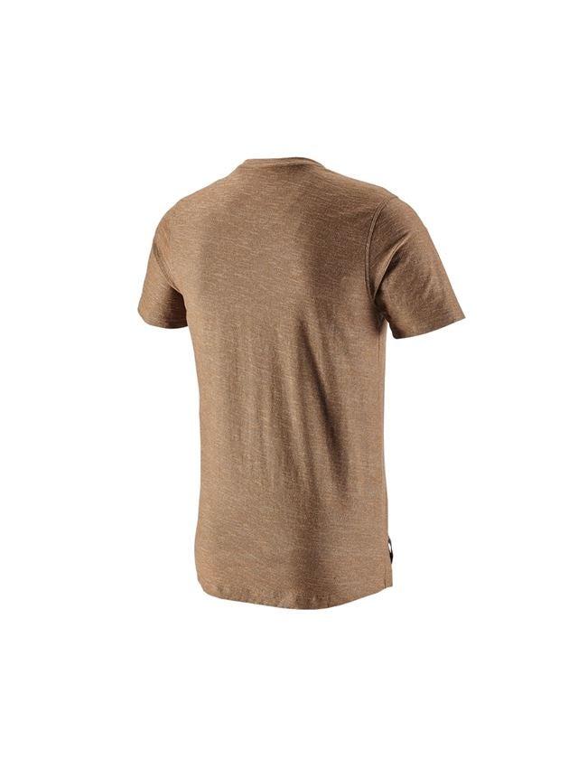 Trička, svetry & košile: Tričko e.s.vintage + sépiová melange 2