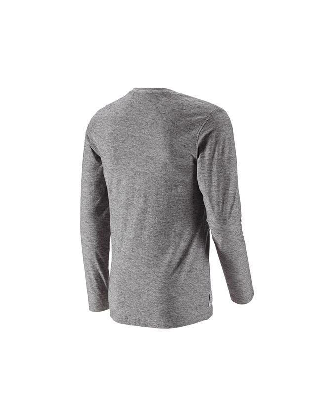 Trička, svetry & košile: Triko s dlouhým rukávem e.s.vintage + černá melanž 2
