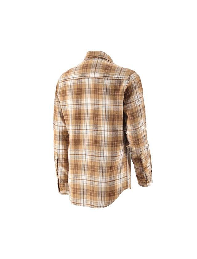 Trička, svetry & košile: Kostkovaná košile e.s.vintage + sépiová károvaná 2