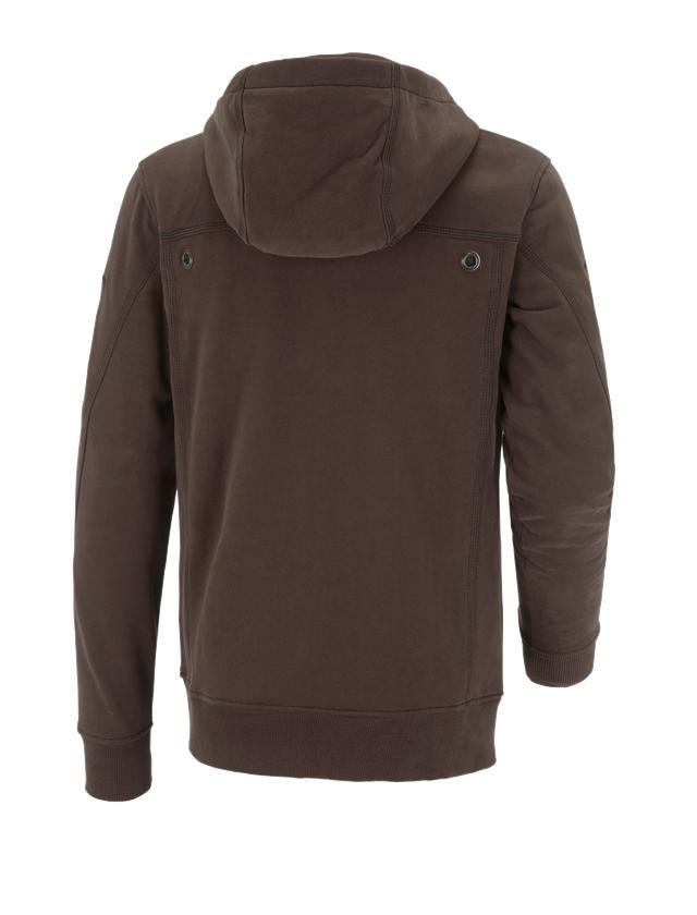 Trička, svetry & košile: Bunda s kapucí cotton e.s.roughtough + kůra 2