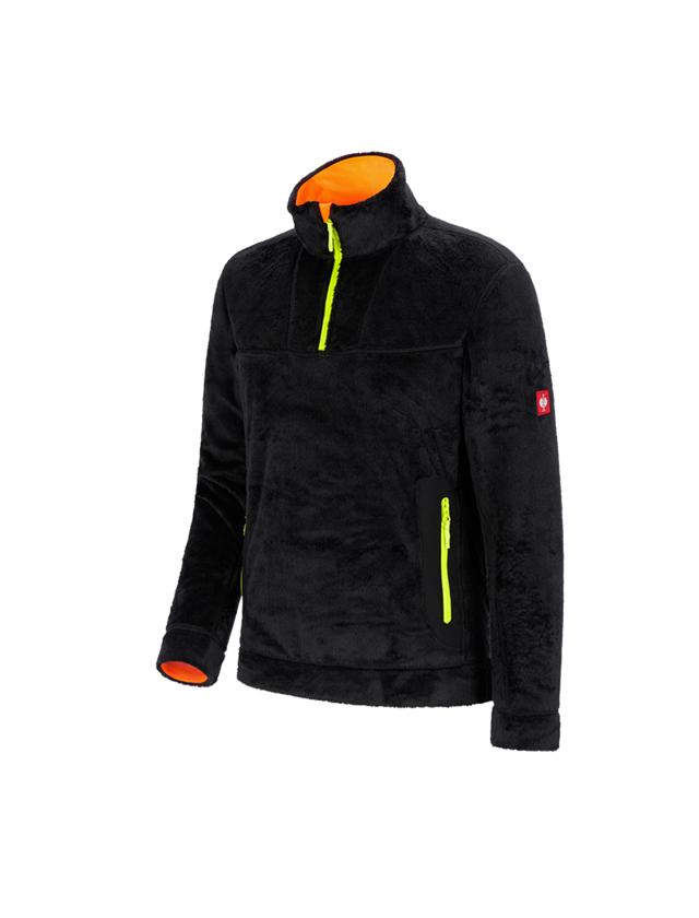 Trička, svetry & košile: Troyer Highloft e.s.motion 2020 + černá/výstražná žlutá/výstražná oranžová