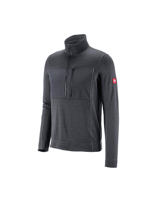 Trička, svetry & košile: Troyer climacell e.s.dynashield + grafit melanž