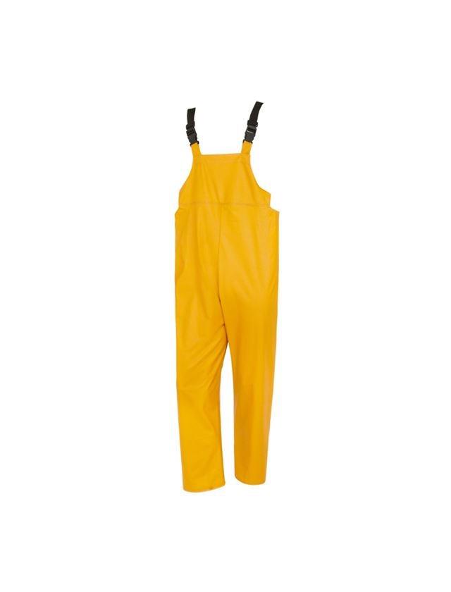 Pracovní kalhoty: Kalhoty s laclem Flexi-Stretch + žlutá