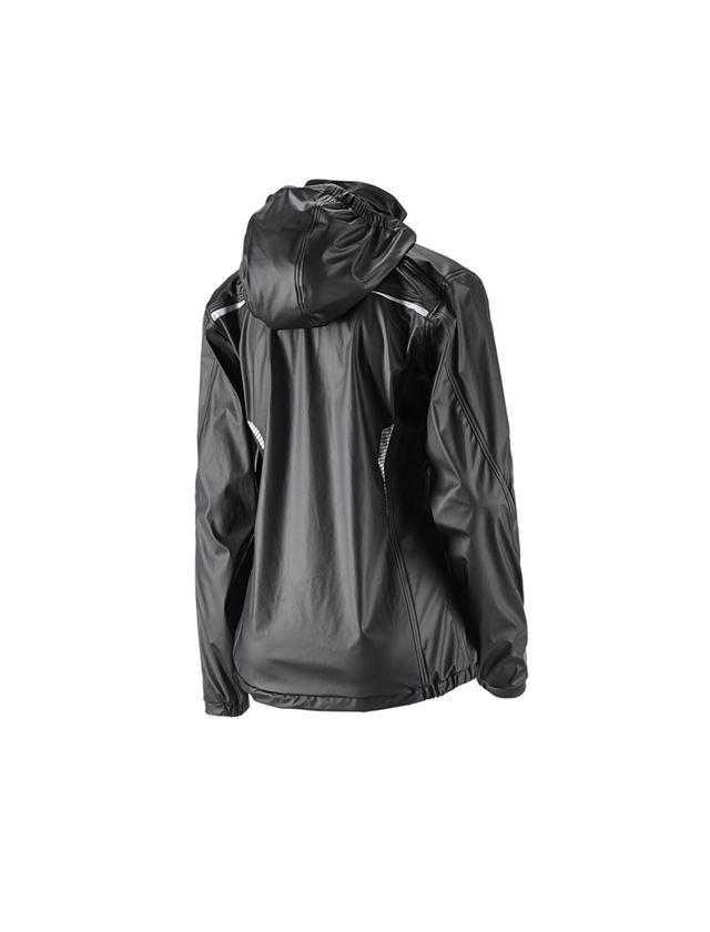 Pracovní bundy: Bunda do deště e.s.motion 2020 superflex, dámská + černá/platinová 2