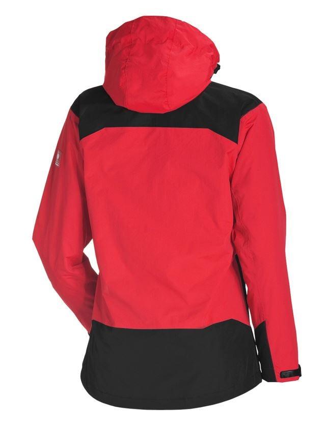 Pracovní bundy: e.s. 3 v 1 Dámská Funkční bunda + červená/černá 2