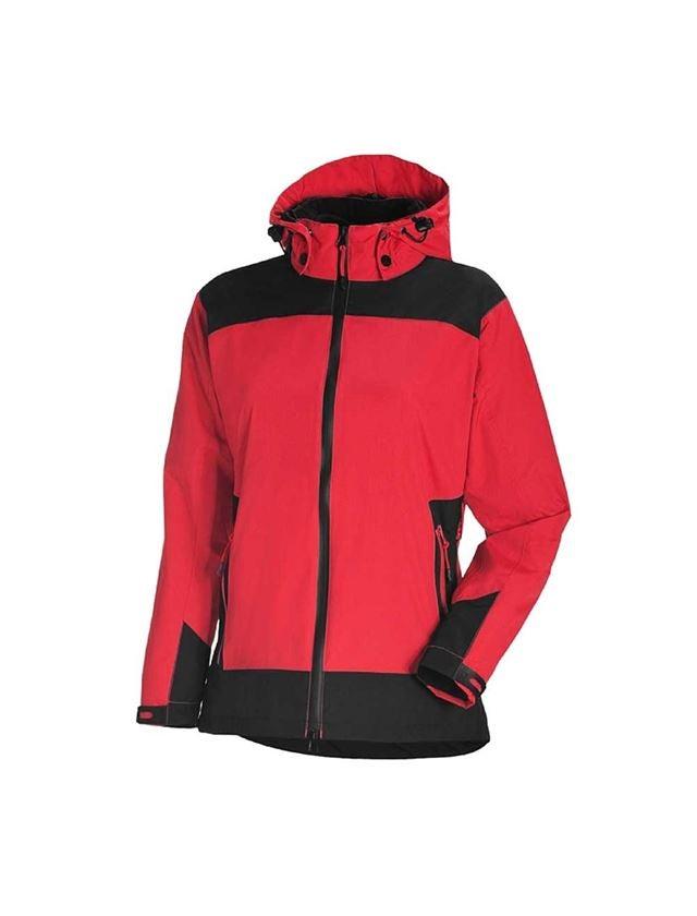 Pracovní bundy: e.s. 3 v 1 Dámská Funkční bunda + červená/černá