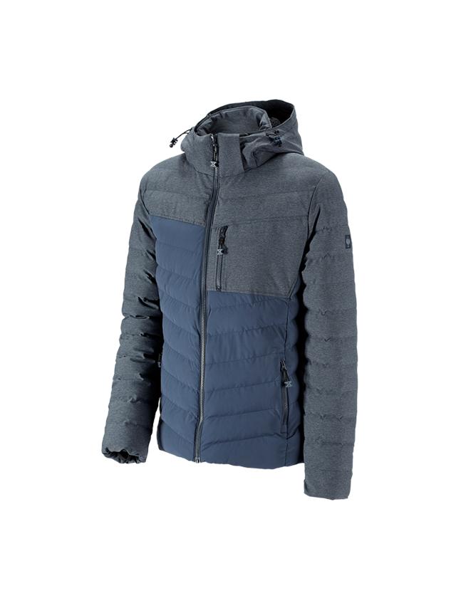 Pracovní bundy: Zimní bunda e.s.motion ten + břidlicová modrá