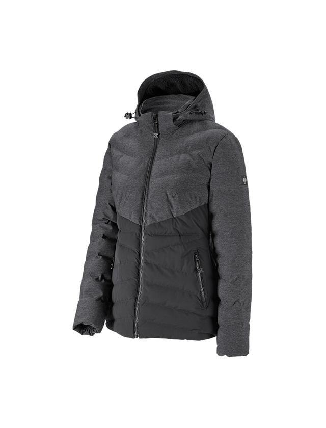 Pracovní bundy: Zimní bunda e.s.motion ten, dámská + oxidově černá