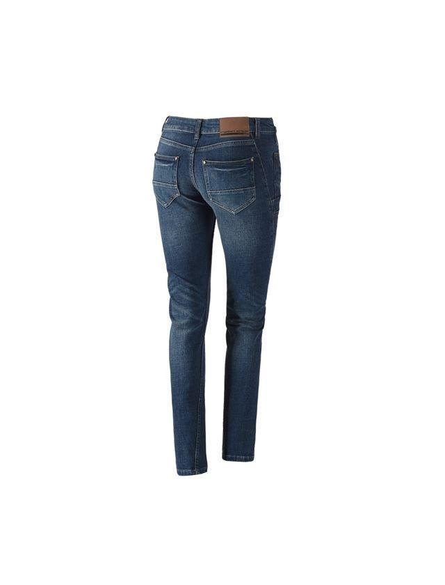 Pracovní kalhoty: e.s. Džíny se 7 kapsami, dámské + stonewashed 2