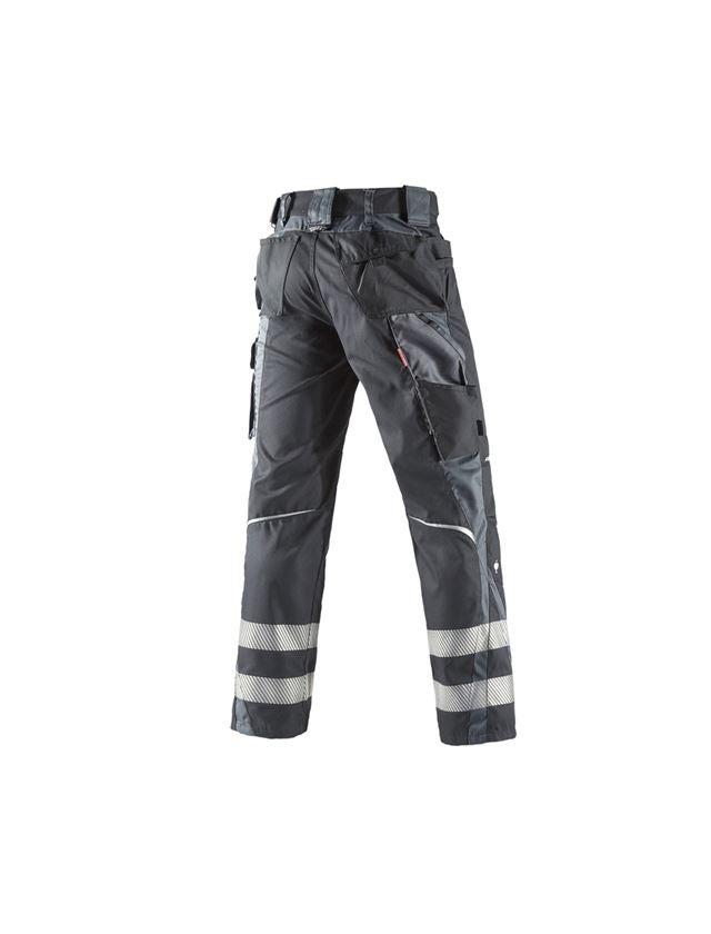 Pracovní kalhoty: Kalhoty do pasu Secure + grafit/cement 1