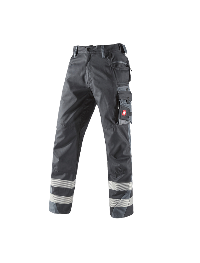 Pracovní kalhoty: Kalhoty do pasu Secure + grafit/cement