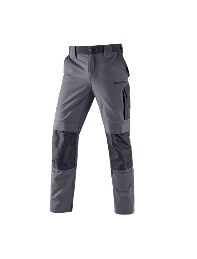 Pracovní kalhoty: Funkční kalhoty e.s.dynashield + cement/černá