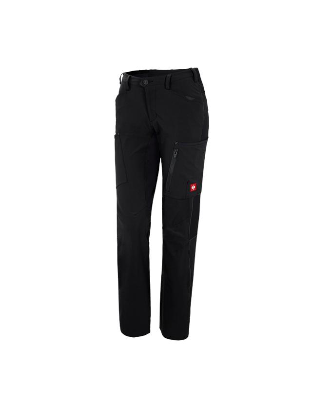 Pracovní kalhoty: Zimní cargo kalhoty e.s.vision stretch, dámské + černá