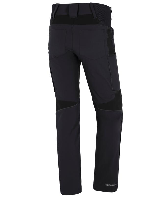 Pracovní kalhoty: Zimní cargo kalhoty e.s.vision stretch, pánské + černá 2
