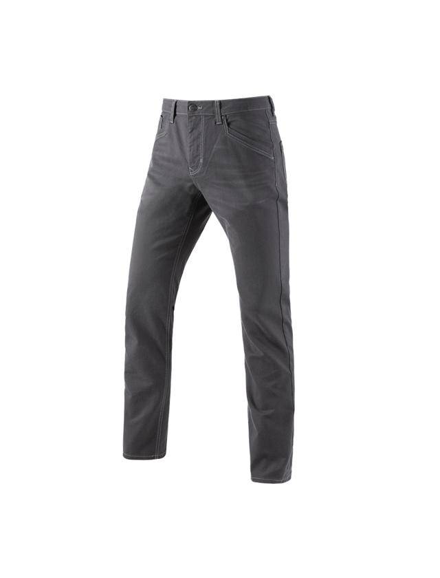 Pracovní kalhoty: Kalhoty s 5 kapsami e.s.vintage + cínová