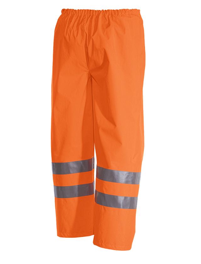 Pracovní kalhoty: STONEKIT Výstražné kalhoty do pasu + výstražná oranžová 1