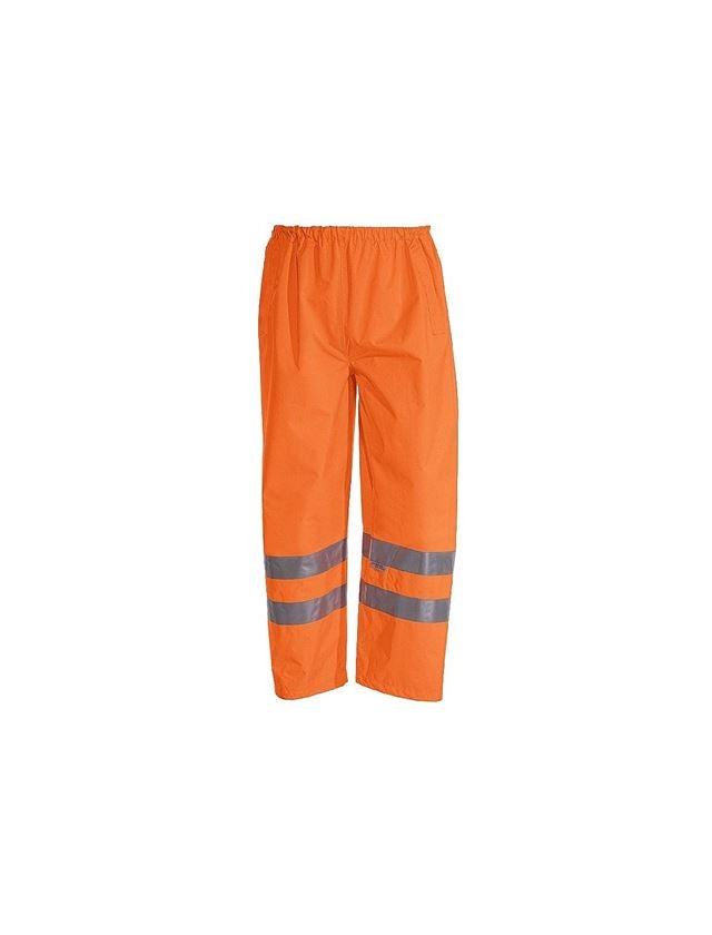 Pracovní kalhoty: STONEKIT Výstražné kalhoty do pasu + výstražná oranžová