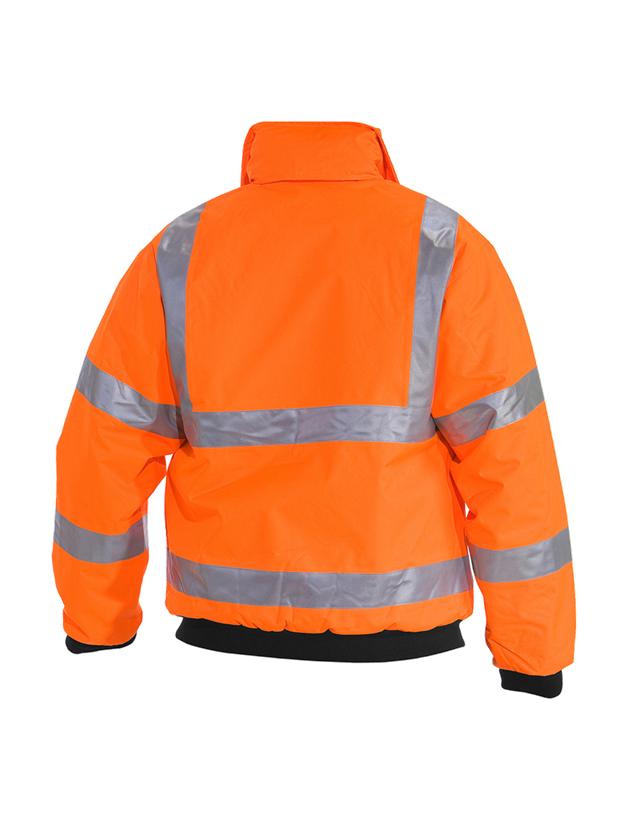 Pracovní bundy: STONEKIT Výstražná pilotní bunda + výstražná oranžová 1