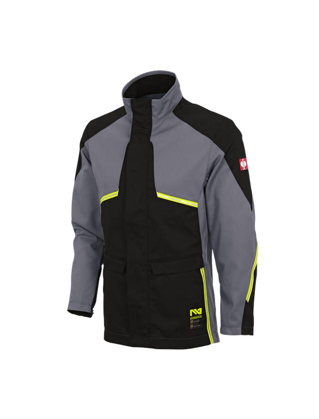 Pracovní bundy: Pracovní bunda e.s.vision multinorm* + šedá/černá
