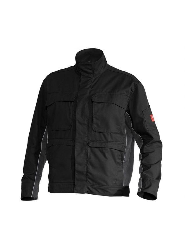 Pracovní bundy: Pracovní bunda e.s.active + černá/antracit