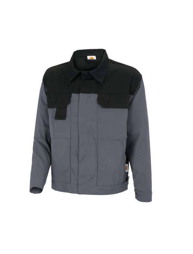 Pracovní bundy: STONEKIT Pracovní bunda Odense + šedá/černá