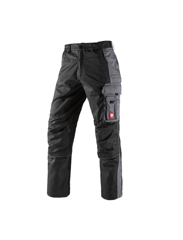 Pracovní kalhoty: Kalhoty do pasu e.s.active + černá/antracit