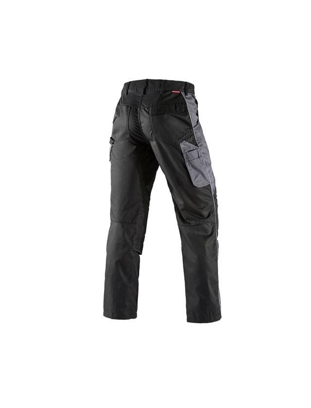 Pracovní kalhoty: Kalhoty do pasu e.s.active + černá/antracit 2