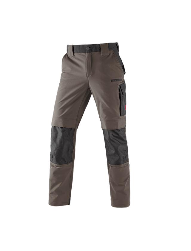 Pracovní kalhoty: Zimní funkční kalhoty e.s.dynashield + kámen/černá