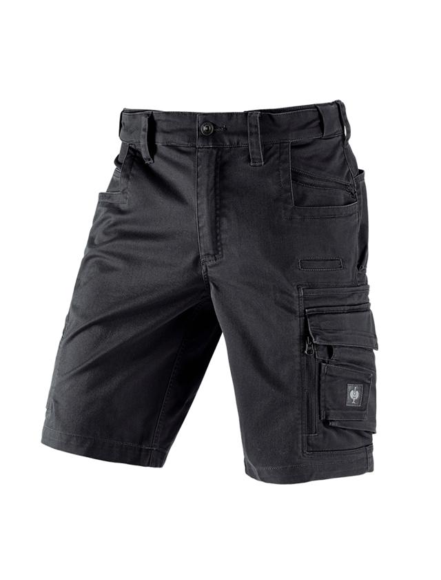 Pracovní kalhoty: Šortky e.s.motion ten + oxidově černá