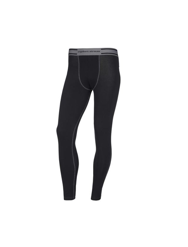 Spodní prádlo   Termo oblečení: e.s. Dlouhé kalhoty z bavlněného streče + černá