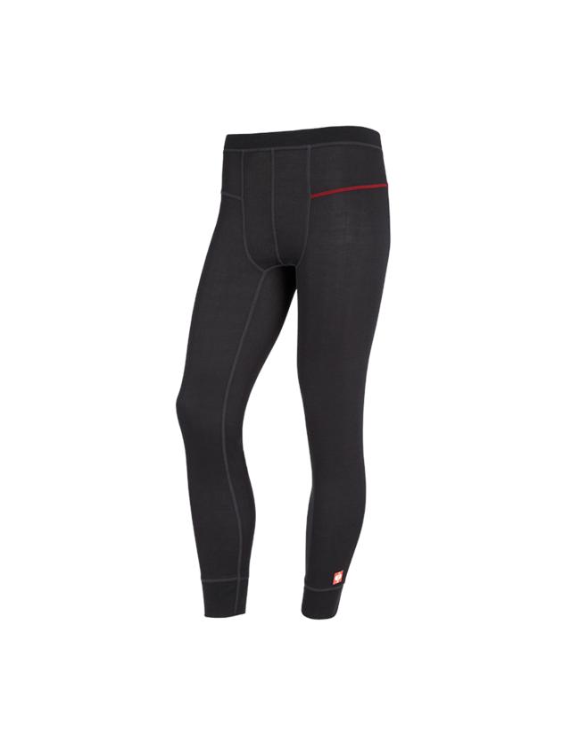 Spodní prádlo | Termo oblečení: e.s. Funkční-Long Pants basis-light + černá