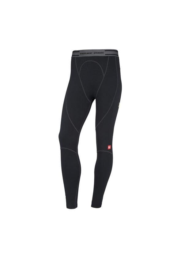 Spodní prádlo | Termo oblečení: e.s. Dlouhé kalhoty clima-pro-warm, pánské  + černá