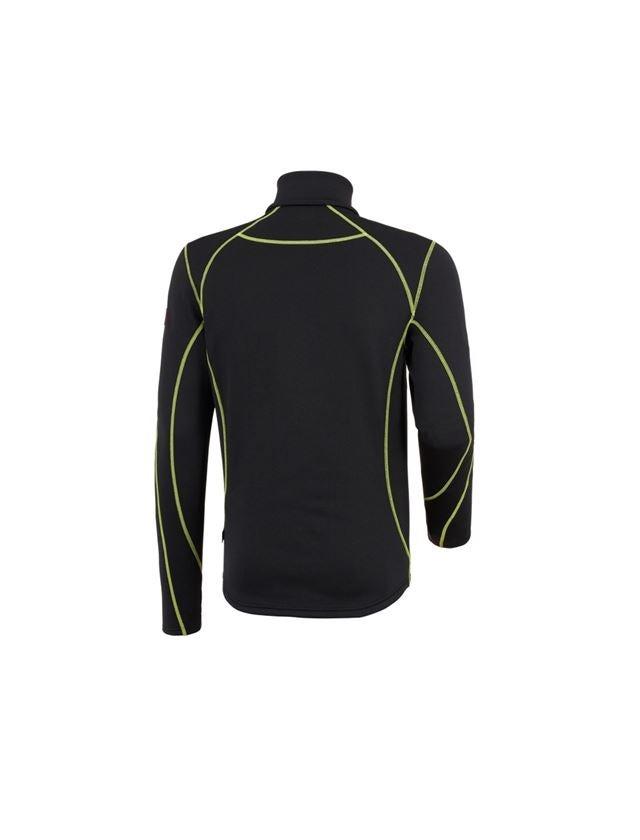 Trička, svetry & košile: Funkční-Troyer thermo stretch e.s.motion 2020 + černá/výstražná žlutá/výstražná oranžová 2