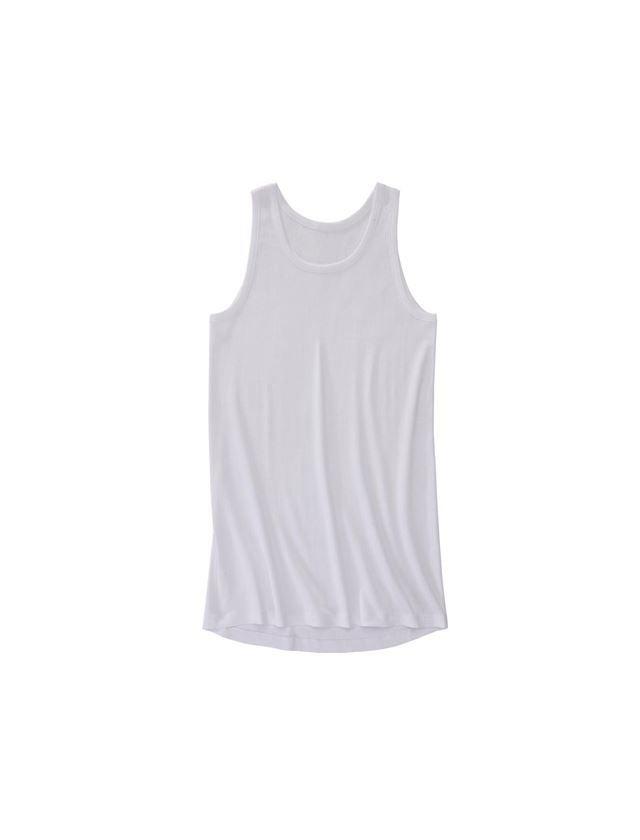 Spodní prádlo   Termo oblečení: e.s. Nátělník žebrov. classic, prodlouž. + bílá