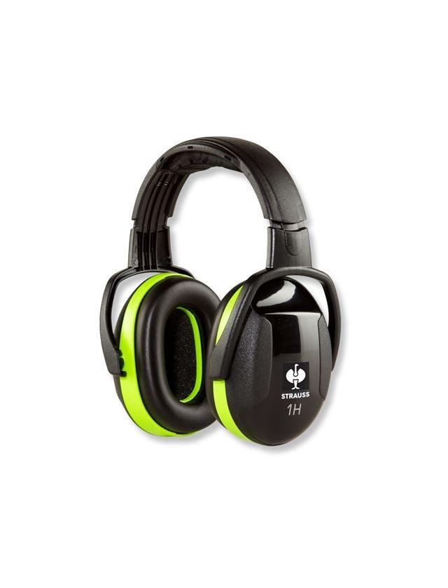 Chrániče sluchu: e.s. Pouzdrová ochrana sluchu 1H + žlutá